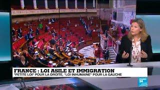 Loi asile immigration: