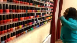 Kaiya at the nail shop! Part 2 Thumbnail
