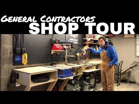 General Contractors - Shop Tour