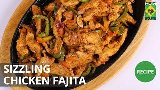 Sizzling Chicken Fajita | Dawat | MasalaTV  | Abida Baloch