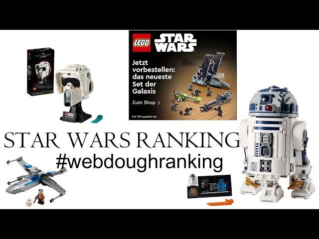 RANKING der LEGO STAR WARS 2021 Sets! Ranking I Webdough FIlm