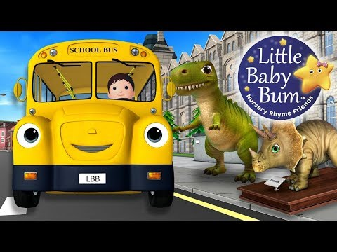 Wheels On The Bus | Part 16 | Nursery Rhymes | Original Song By LittleBabyBum!