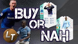 Birthday Toure vs. Birthday Rooney!  |  Buy or Nah  |  FIFA 18 Player Review Series