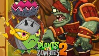 ✔️50 GEM = 1 CÂY ĐẠN ĐUỔI BẢN TÀU   Plants Vs Zombies 2 CHINESE   Hoa Quả Nổi Giận 2