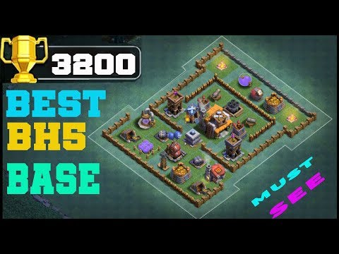 BH5 Anti 1 Star Base With Proof   NEW Builder Hall 5 Base With Replays #3