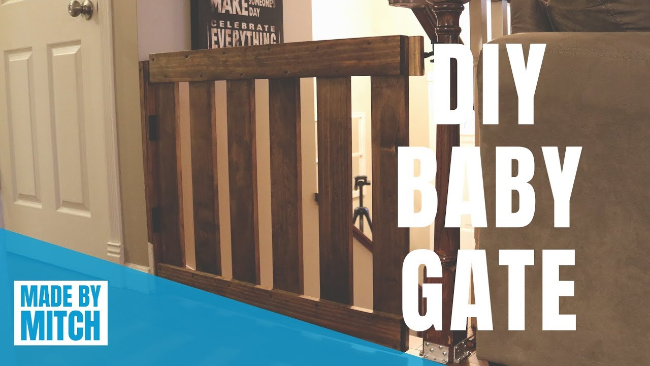 Diy Baby Gate Youtube