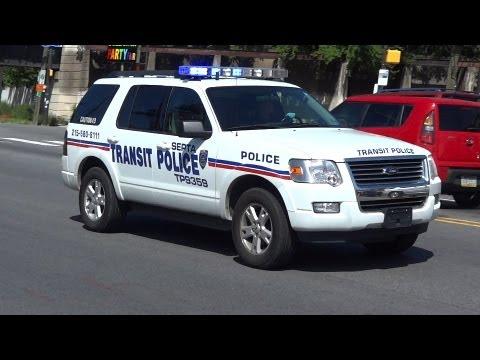 PPD 8C & SEPTA Transit Police TP-9359 Responding