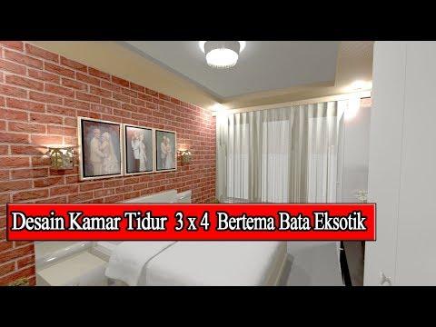 desain-kamar-tidur-3x4-suami-istri-terbaru-2019