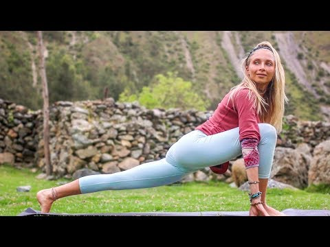 Yoga Workout For Weight Loss  ♥ Pilates-Yoga Fusion | Peru