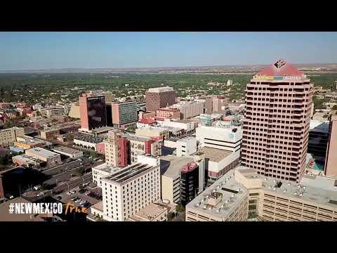 NM True OVERviews-Downtown Albuquerque