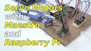 Servo Motor With Raspberry Pi and Maestro board