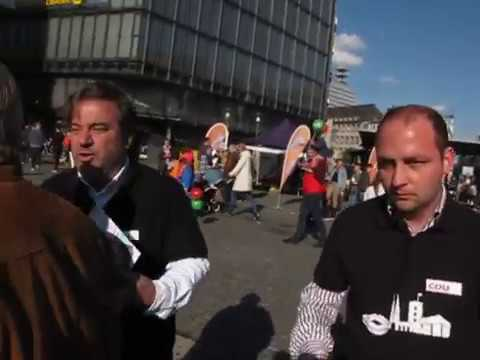 Nie wieder CDU / Artikel 13 Die Zerstörung der CDU / CDU-Politiker täuscht Angriff vor