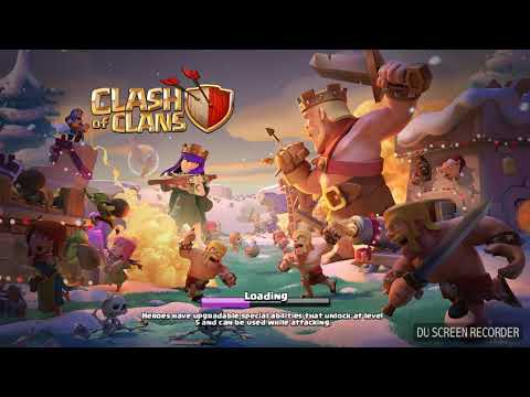 Clash of clans New update 2018-christmas special