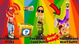 SUBWAY SURFERS 2018 - TRICKY WITH HEART OUTFIT AND THE SCARAB Egyptian UNLOCKED ON PC GAMEP LAY