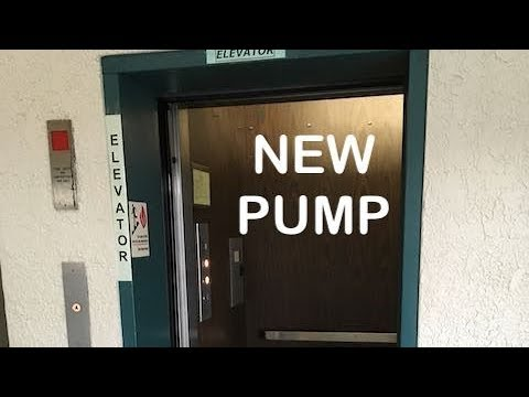 The vintage Dominion Elevator at 132 Campbell has a new pump and motor!