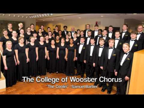 The Coolin - Samuel Barber.  The College of Wooster Chorus