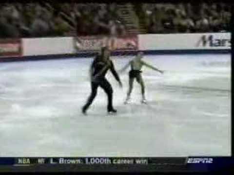 Rena Inoue and John Baldwin 2006 US Nationals Free Program