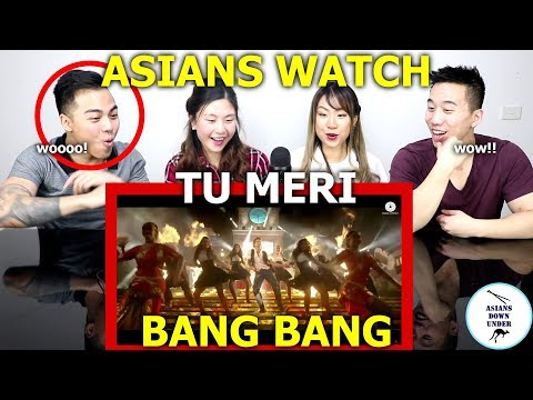 Tu Meri | BANG BANG! | Hrithik Roshan & Katrina Kaif | Reaction - Australian Asians