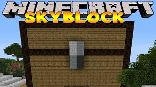 Minecraft Skyblock  : THE GIANT CHEST!