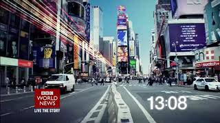 BBC World News - News Summary - Countdown, Intro (22/06/2018, 09:00 BST)