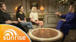 Downton Abbey movie: Allen Leech, Michelle Dockery and Laura Carmichael | Sunrise | Sunrise