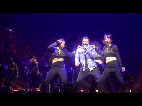 Justin Timberlake - LoveStoned/I Think She Knows: Man of the Woods Tour in Montreal (04/08/2018)