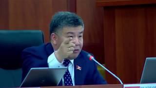 Шыкмаматов Баш прокурорго катуу айтты.