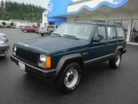 Preowned 1995 Jeep Cherokee Burlington WA