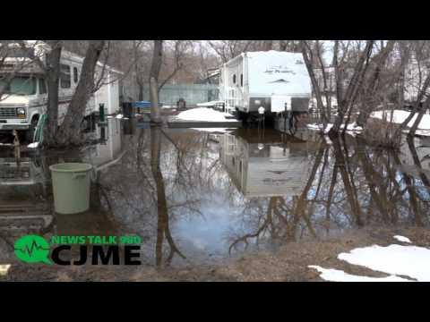 Sherwood Forest Flooding - April 2011