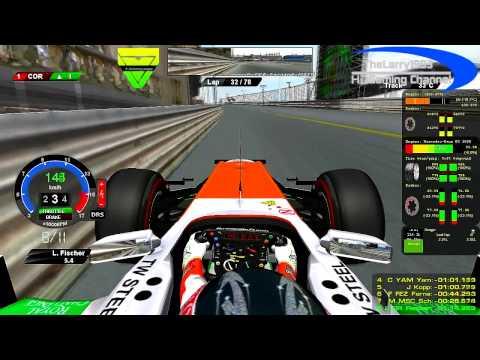 rF1-Simracing.eu - OnBoard Monaco Grand Prix