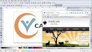Creating a logo in Inkscape in 15 minutes
