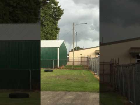 Tornado in Morgan City, LA