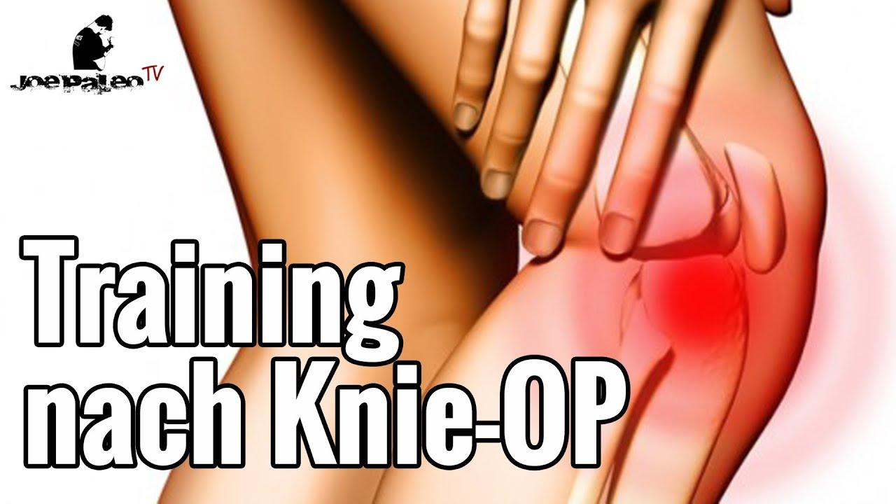 Knie-OP und das Training danach | Was Ihr beachten müsst