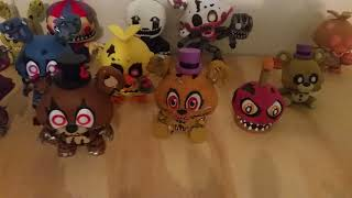 My FNAF Funko Mystery Mini Collection #1