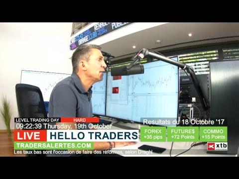 Emission Hello Traders émission du 19 Octobre 17