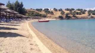 Пляж Порто Каррас (Греция, Халкидики, Ситония)(, 2013-07-01T20:44:28.000Z)