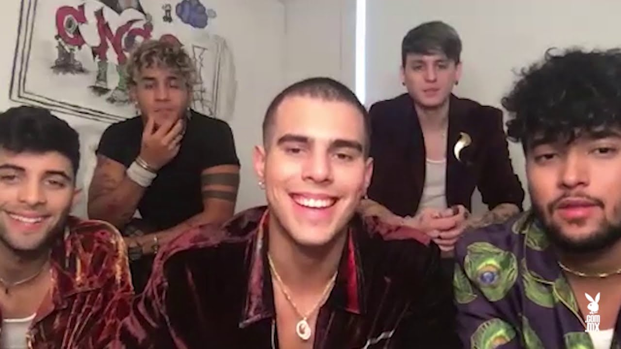 Playboy Backstage con CNCO
