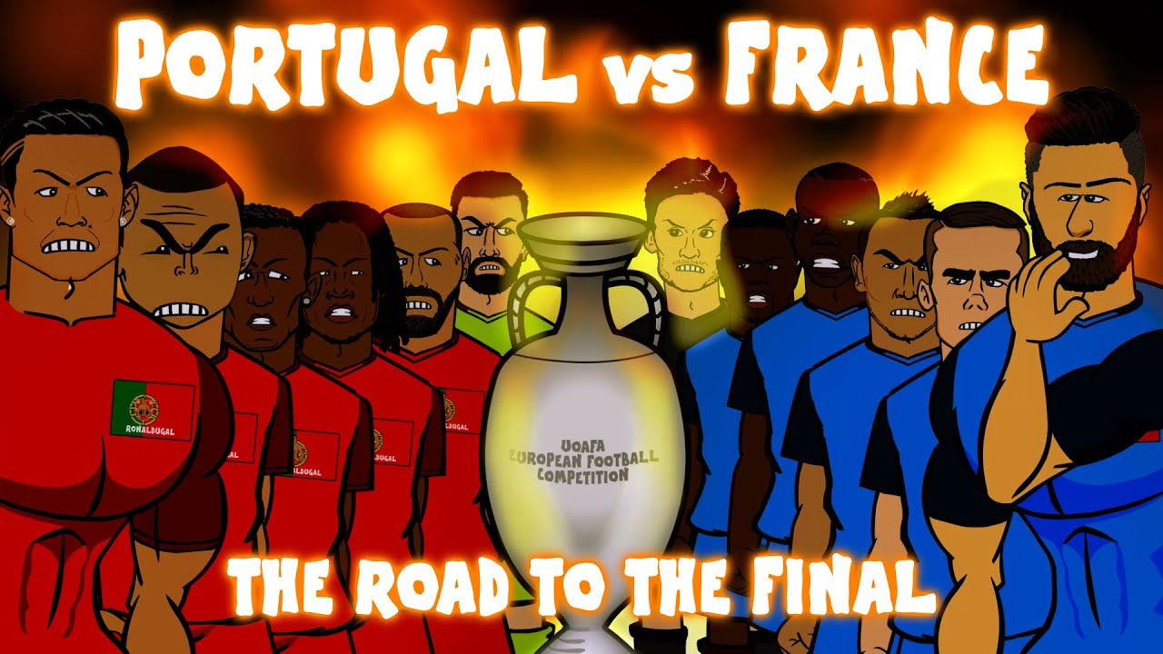 portugal vs france the road to the final euro 2016 preview montage youtube. Black Bedroom Furniture Sets. Home Design Ideas