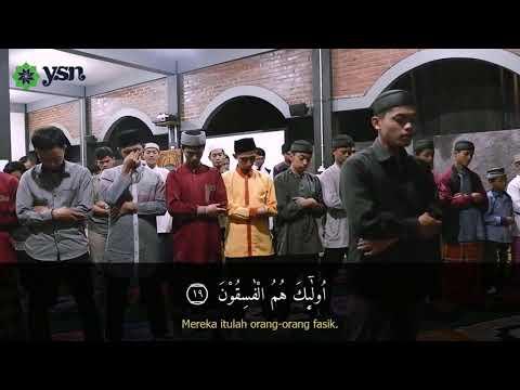 Ustadz Aziz Imam Sholat Isya Surat Al Hasyr Ayat 18 - 24 | Pondok Tahfidz Zabisa Temanggung
