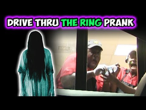 Drive Thru THE RING Prank!!