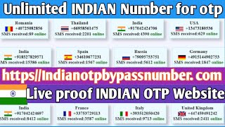 How to get indian number for otp videos / InfiniTube