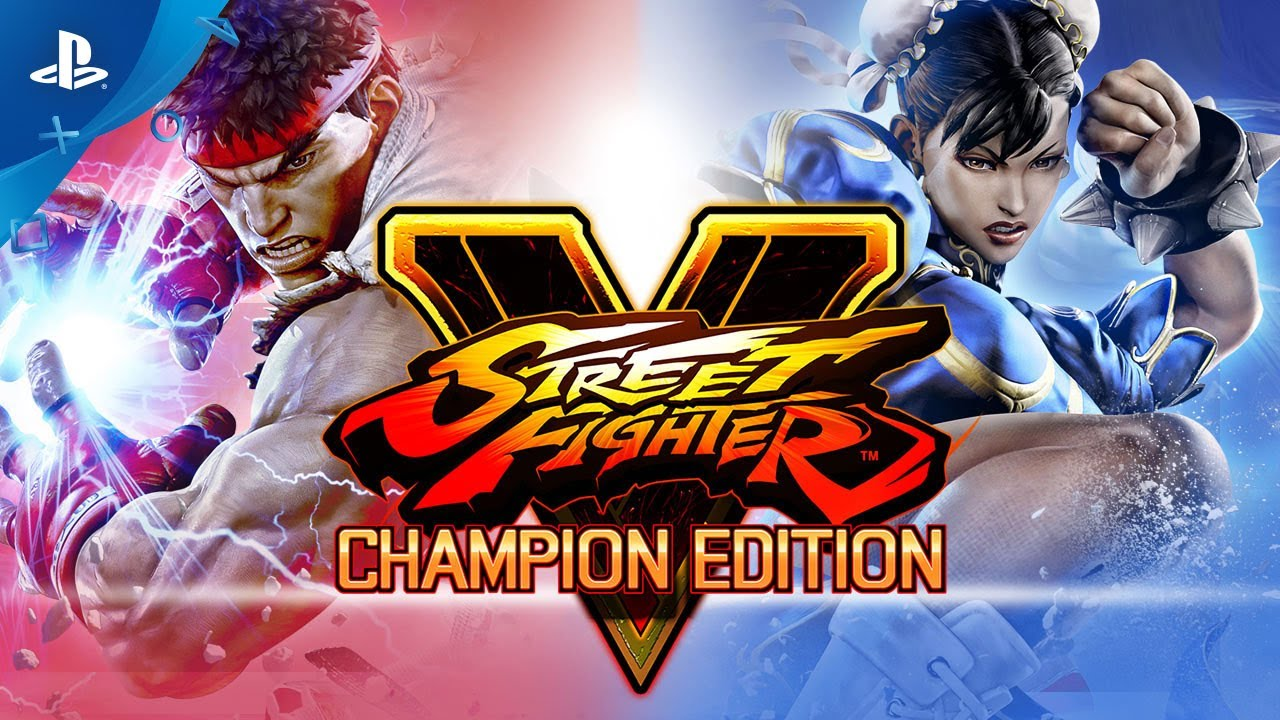 Street Fighter V Champion Edition Launch Trailer Ps4 Youtube