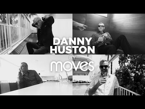 Danny Huston backstage