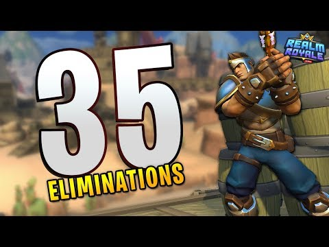 35 KILLS in ONE Round of Realm Royale!