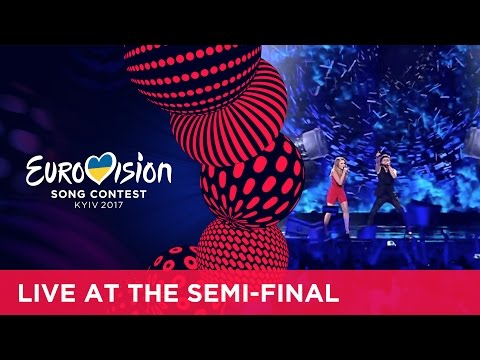 Ilinca ft. Alex Florea - Yodel It! (Romania) LIVE at the second Semi-Final