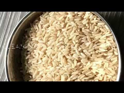 How to clean Rice  without stone especially broken rice  and  hand pounded rice