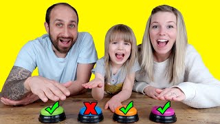 Don't Push the Wrong Button TOY Challenge! with L.O.L. Surprise, Ryan's World & Poopsies!