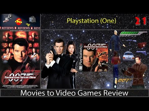 Movies to Video Games Review -- Tomorrow Never Dies (PS1)