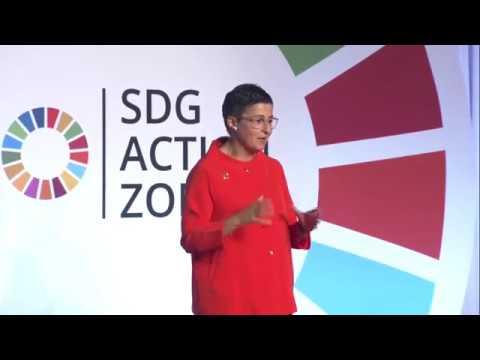 UN Digest at the #SDGActionZone with Arancha Gonzalez
