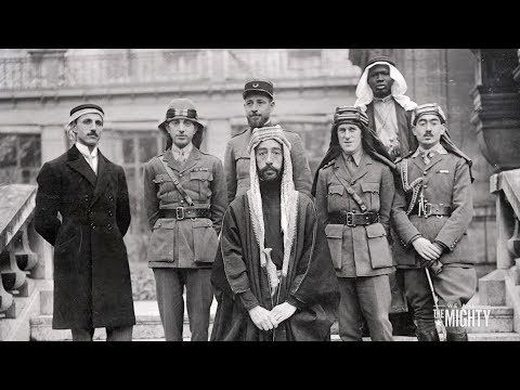 Lawrence of Arabia captures Damascus - 10/1/1918